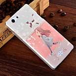 3D Relief Graphic Pattern Fashion PC Material Back Cover for OPPO A31T