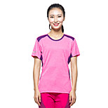 KORAMAN Women's Summer Outdoor Jersey Short Sleeve Printing T-shirt  Breathable Quick-dry