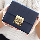 Travel WalletForTravel Storage PU Leather Black / Blue / Pink / Coffee / Rose 12.5*10.5