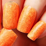 Ekbas Orange Matte Nail Glue 16ML Nail Polish