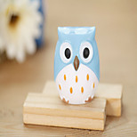 1PC Mini Funny Learning Stationery Owl Pencil Sharpener Cutter Knife School Student Stationery Supplies(Style random)