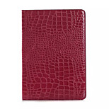 Fashion High Quality Slim Crocodile Leather Case For iPad Air 2 Smart Cover With Stand Alligator Pattern Case