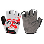 Outdoor Sports Bike Cycling Gloves Half Finger Bicycle Mittens Lycra Palm Protection S-XXL