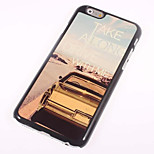 Car Cool Word Metal Sheet PC Bottom IML With Back Case For Iphone6 Plus/6s Plus