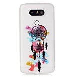Colorful Wind Chimes Luminous Dream Catcher Pattern Sofe TPU Case for LG G5