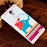 3D Relief Graphic Pattern Fashion PC Material Back Cover for OPPO R7 Plus