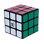 Magic Cube IQ Cube Dayan Three-layer Speed Smooth Speed Cube Magic Cube puzzle Black ABS