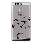 Faith Pattern Embossed TPU Case for P9/ P9 Lite