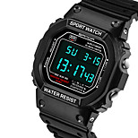 Ms. Waterproof Sports Watch Lovers Table Luminous Multifunction Teenagers (trumpet)