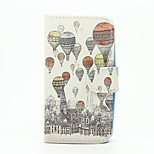 Hot Air Balloon Pattern Wallet Leather Stand Cover Case for Wiko Sunset2