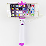 Novelty Wired Selfie Stick for iphone/Samsung and others