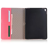 Unique Design Luxury Grid pattern PU Leather Case Flip Cover For Apple iPad Mini Pro 9.7