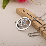 Movie The Hunger Games Bird Alloy Necklace Pendant Necklaces Daily / Casual 1pc