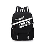 Bag Inspired by Tokyo Ghoul Ken Kaneki Anime Cosplay Accessories Bag / Backpack Black Canvas Male / Female