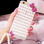 Luxury Diamante Silicone Back Cover for iPhone 6/iPhone 6 Plus