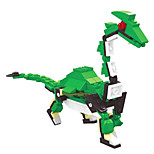 Dr Wan, Le Building Blocks Dinosaur Eggs Twisted Egg To Hold Educational Toys For Children 6805 Stream Dragon