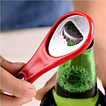 tennisketsjer form metal personlig øl oplukker nøglering nøglering nøglering ring (tilfældig farve)