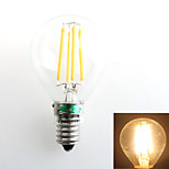 Zweihnder W406 E14 4W 380LM 3000-3500K LED Tungsten Core Warm Light Globe Bulb(AC 220 -240V)