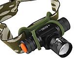 Faixa Para Lanterna de Cabeça LED 4.0 Modo 1200 Lumens Foco Ajustável Cree XM-L T6 14500Campismo / Escursão / Espeleologismo / Uso Diário