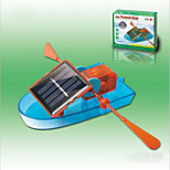 Solar Powered Gadgets DIY Toy For Boy Children Educational ABS Orange/Blue