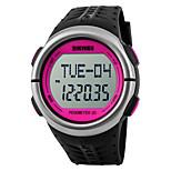 Sports Watch Heren / UniseksWaterbestendig / Hartslagmeter / Stappenteller / Fitness trackers / Stopwatch / s Nachts oplichtend /