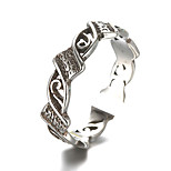 Unisex Vintage Pattern Punk Antique Sterling Silver Ring Band Rings Daily / Casual 1pc