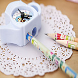 1PC Cute Teapot Plastic Pencil Sharpener Alarm clock Creative Stationery For Kids Student Gifts School(Style random)