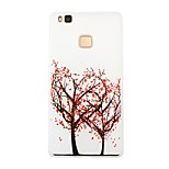 Love Tree Blossom Luminous Dream Catcher Pattern Sofe TPU Case for Huawei P9 Lite