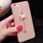 diamante de lujo de silicona para el iPhone 6 / iPhone 6 más
