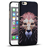 High Quality Embossed Lion Protective Back Cover Soft iPhone Case for iPhone 6S/iPhone 6