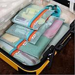 Travel Bag / Packing OrganizerForTravel Storage / Luggage Accessory Fabric Blue / Purple / Pink / Burgundy / Rose