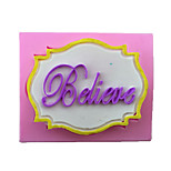 Believe Style Candy Fondant Cake Molds  For The Kitchen Baking Molds