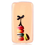 Macaron Tower Pattern Embossed TPU Case for LG K7/ K10