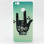 Finger Pattern TPU Material Phone Case for  Huawei  P8 Lite/P9 Lite/G8