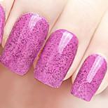 Ekbas Environmentally Safe Sugar Gum Purplue 16ML Glitters Nail Polish
