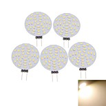 5 x G4 MR11 GU4 GZ4 4W 36x4014SMD LED 3000K/6000K Warm White/Cool White Round Shape LED Bulb AC/DC12V