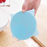 belle silicone de dessin animé enveloppe couvercle d'étanchéité film étirable étirable conserver les aliments frais outils de cuisine