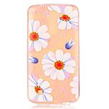 Pink Daisy Flower Pattern Embossed TPU Case for LG K7/ K10