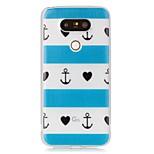 Article Blue Heart Luminous Dream Catcher Pattern Sofe TPU Case for LG G5