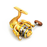 Mini Metal  Fishing Spinning Reel 12 Ball Bearings  Exchangable Handle-BWM150