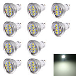 YouOKLight® 10PCS GU10 7W 560LM 16-SMD5630 LED Spotlight White Light  6000K (AC220V)