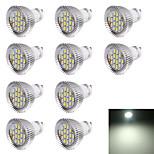 Faretti LED 16 SMD 5630 YouOKLight R63 GU10 7W Decorativo 560 lm Luce fredda 10 pezzi AC 220-240 V