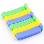 6PCS/lot Family Essential Keep Innovation Of Food Fresh Plastic Sealing Clip Simple