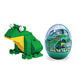 Dr Wan, Le Building Blocks Mini Animal Egg Packaging Puzzle Assembly Building Blocks Toys The Frog 6601