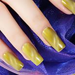 Ekbas Cat Eye Yellow Matte Nail Glue 16ML Nail Polish