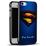 superman caso en relieve protectora suave de la contraportada del iphone para el iphone se / iPhone 5s / 5