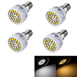 YouOKLight® 4PCS  E14 3W 24-SMD 2835 LED Spotlight Warm White  Cold White 240lm (AC 220~240V)