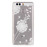 Dandelion Birds Pattern Embossed TPU Case for P9/ P9 Lite