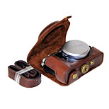 Dengpin PU Leather Camera Case Bag Cover for Fujifilm X70 (Assorted Colors)