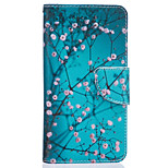 Plum Branch Pattern Card Phone Cover For LG K7/K10